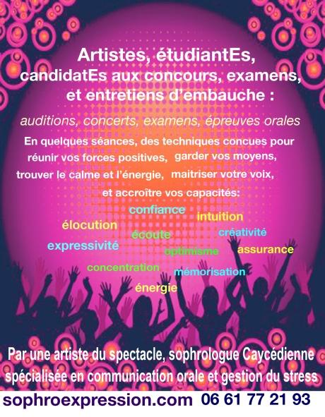 Flyer Artistes